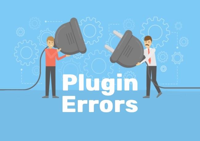 Plugin errors