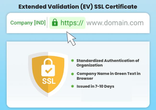 Extended Validation (EV) SSL Certificate