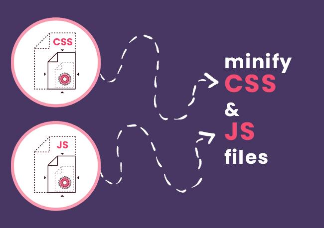 Minify CSS & JS files.