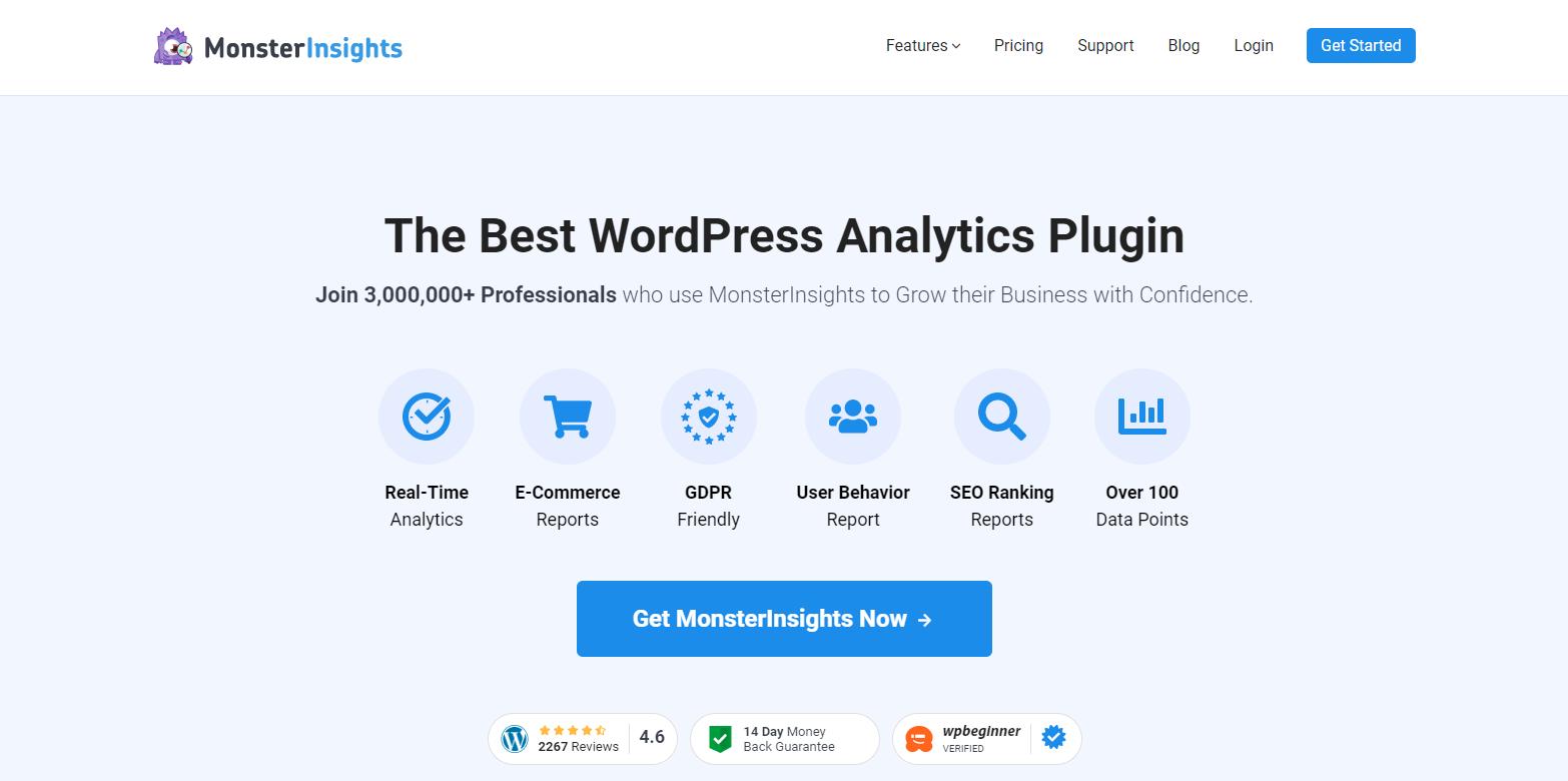 best wordpress analytics