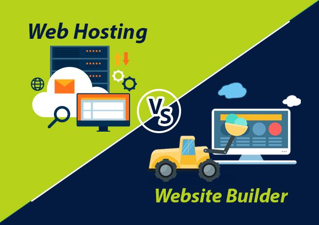 webbuilder-vs-webhosting