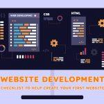 Website Development checklist to help create your first Website