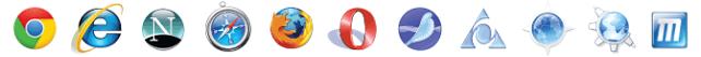 PremiumSSL Supported In Google Chrome, Internet Explorer, Safari, Netscape, Firefox, Mozilla, Opera, AOL